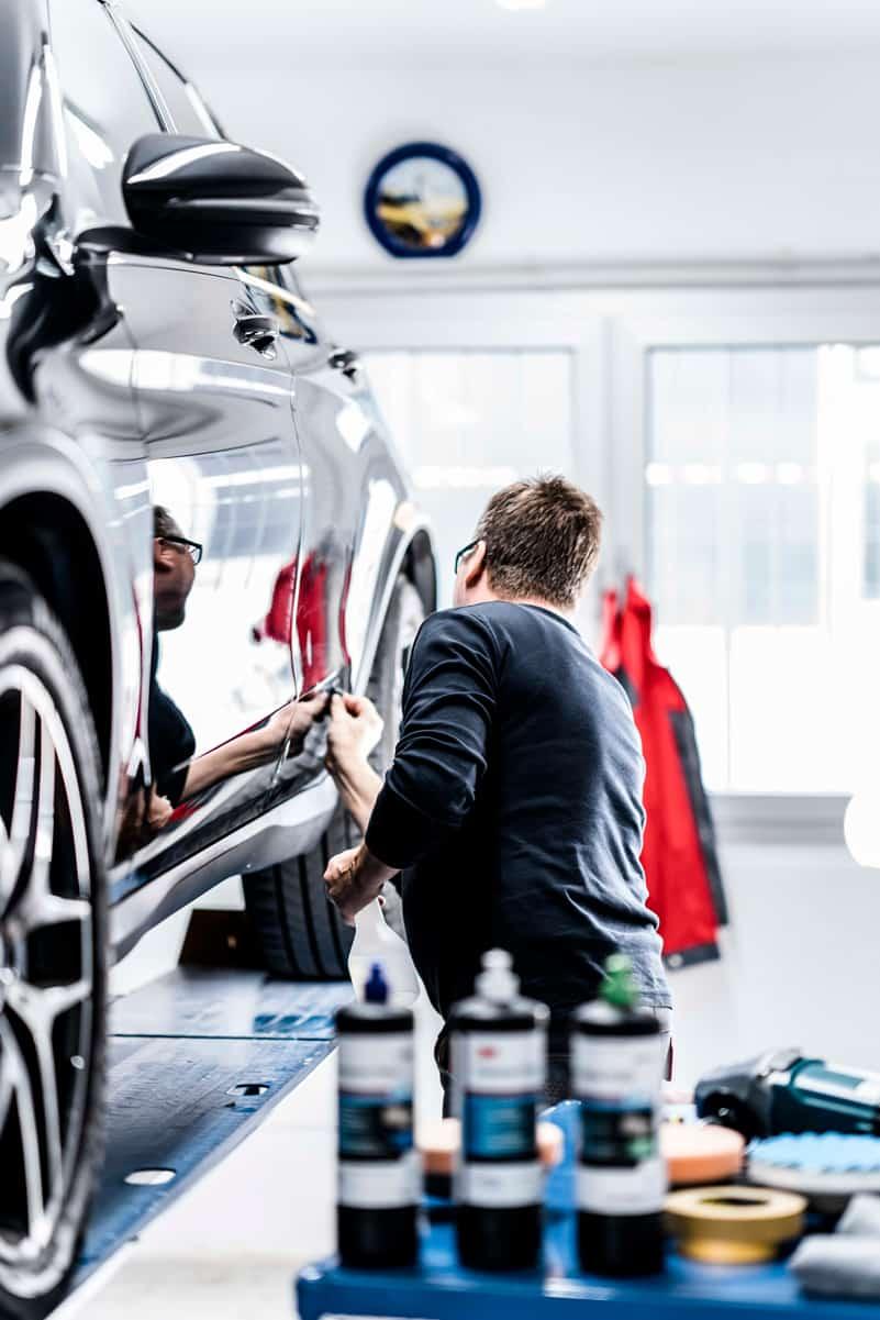 Werkstatt Fahrzeugaufbereitung München Nord