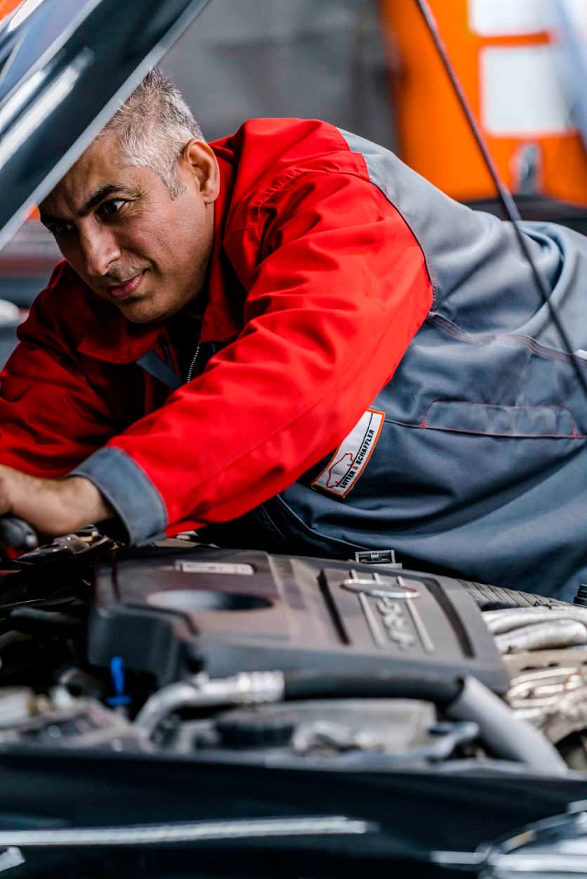 KFZ-Reparatur Werkstattmitarbeiter