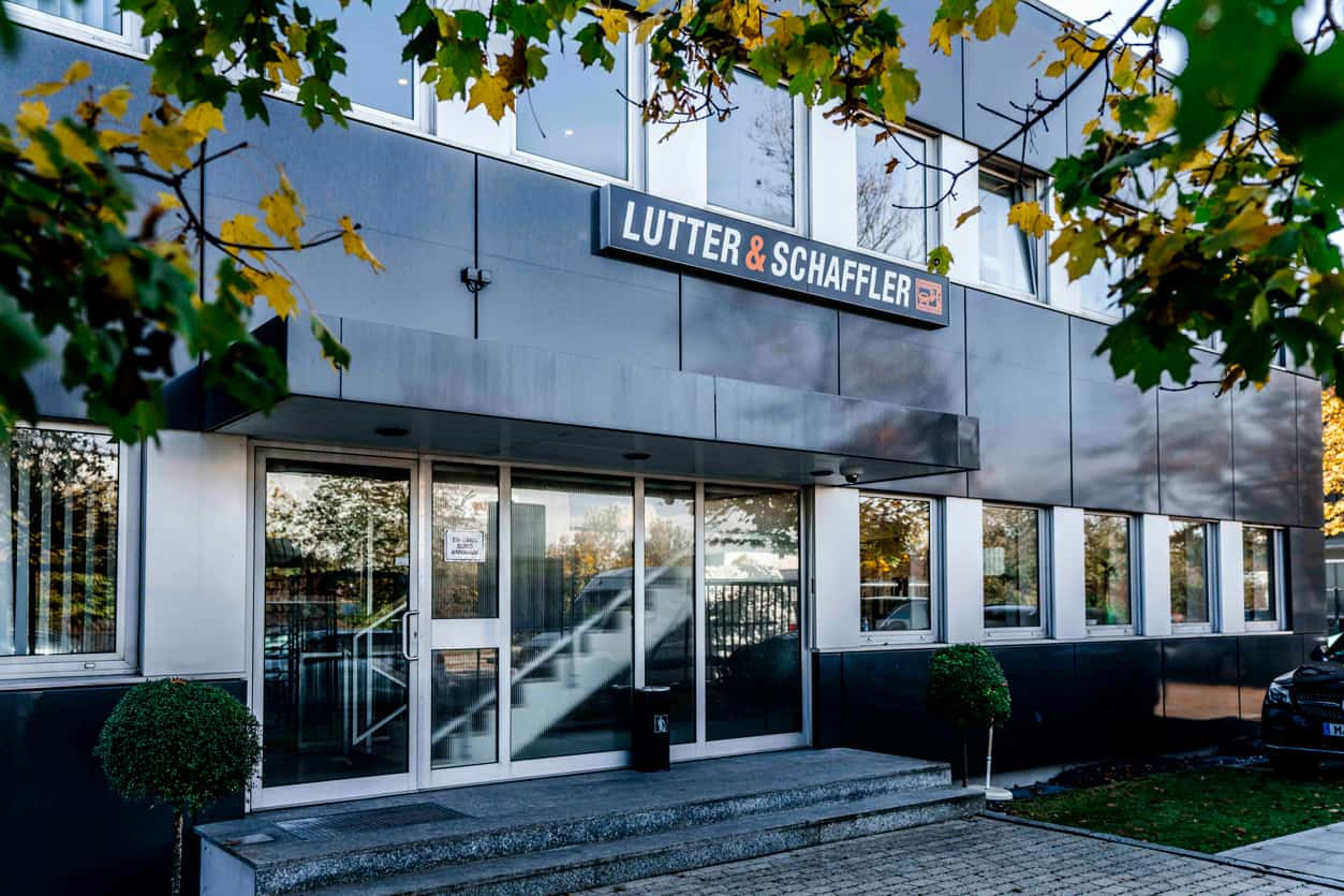 Lutter & Schaffler Werkstatt Eingang München Nord