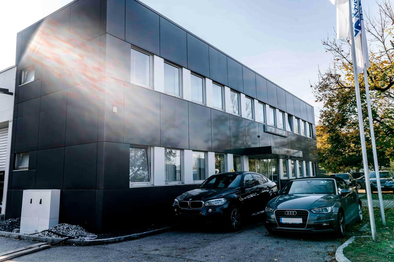 Lutter & Schaffler Werkstatt Gebäude München Nord