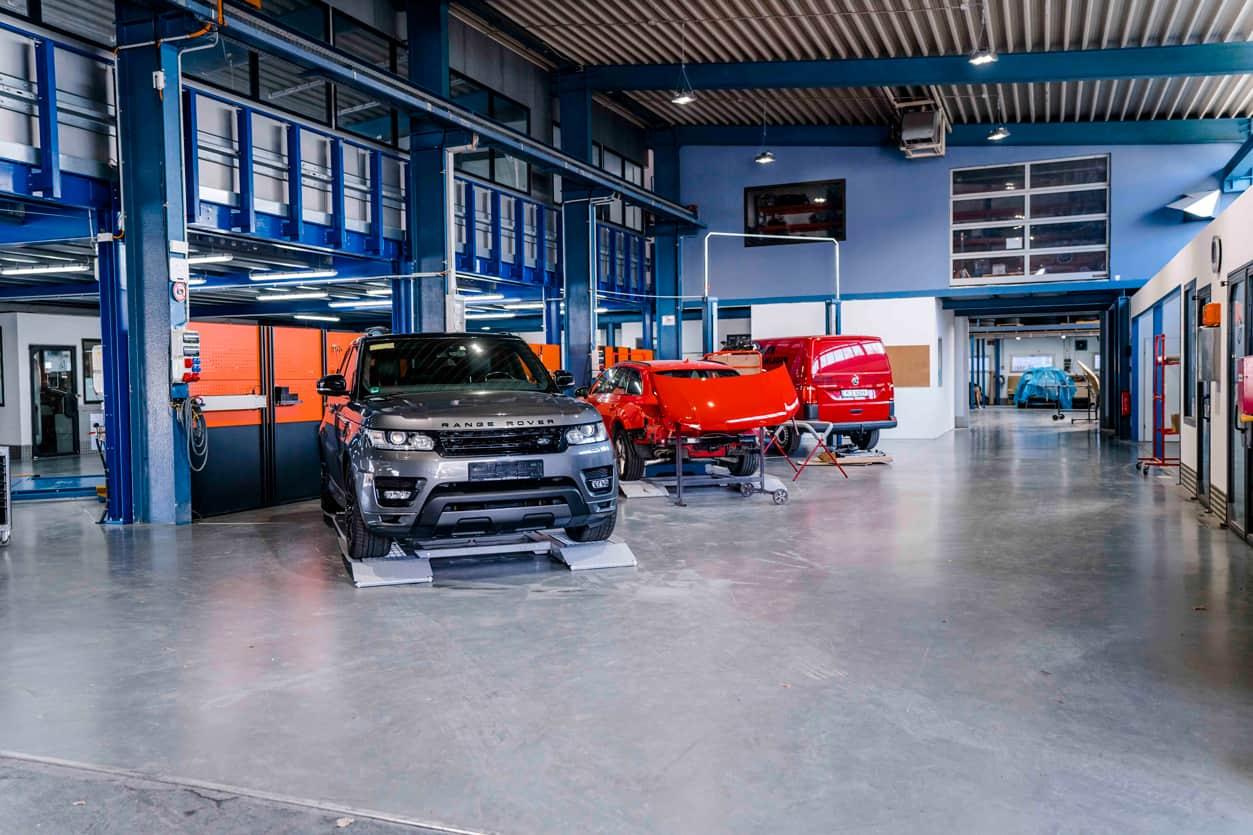 Werkstatt Innenraum Lutter & Schaffler